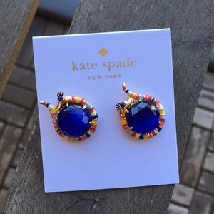 Kate Spade Spice Things Up Snake Stud Earrings